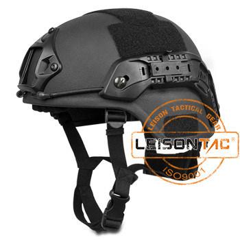 Ballistic Helmet Bulletproof with Accessory Rail Connectors