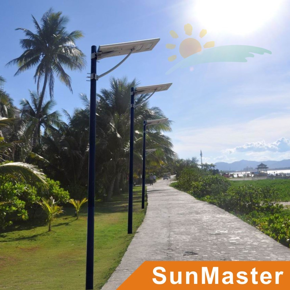 50W LED 50wsolar Panel Integrated Solar Street Light All-in-One Solar LED Street Lamp