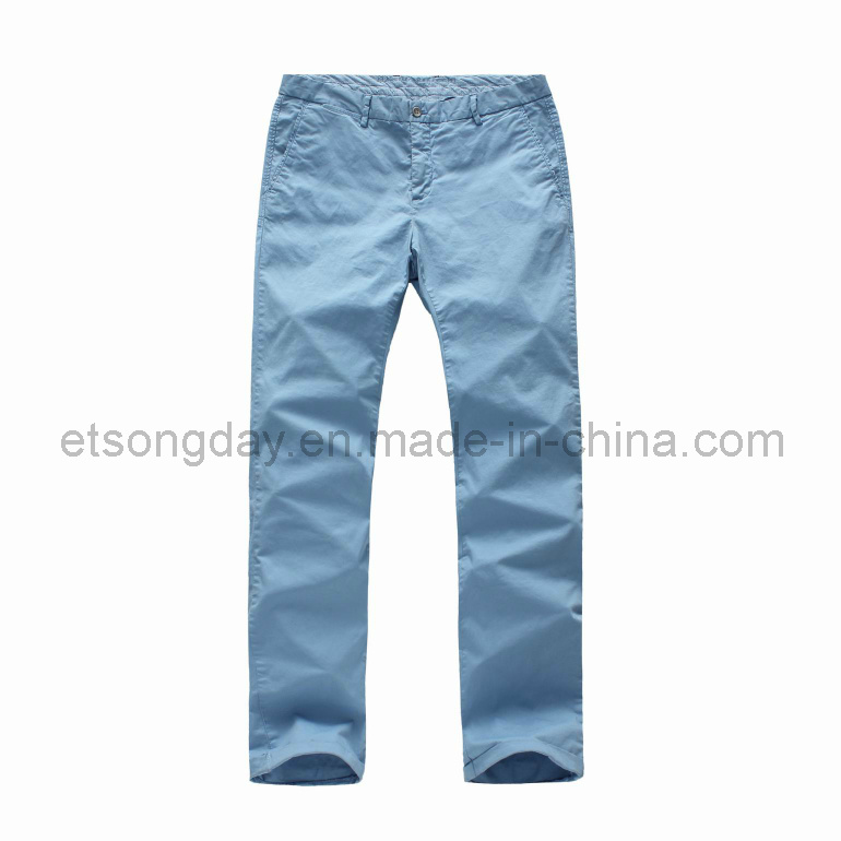 High Quantity Cotton Spandex Men′s Trousers (MSMRBCH)
