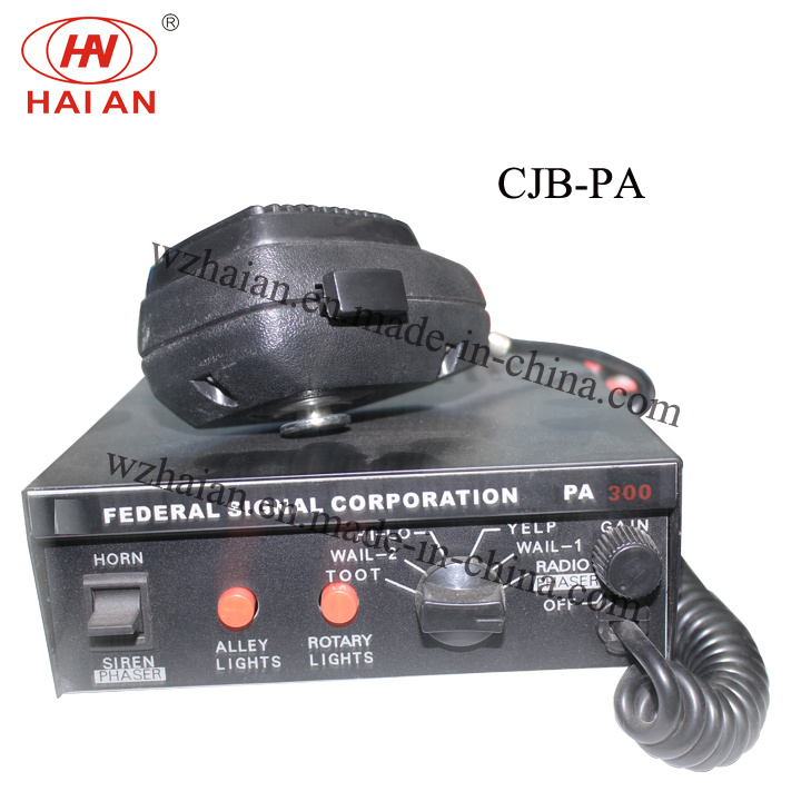 12V DC South America Special Sound Emergency Vehicle Siren (CJB-PA)