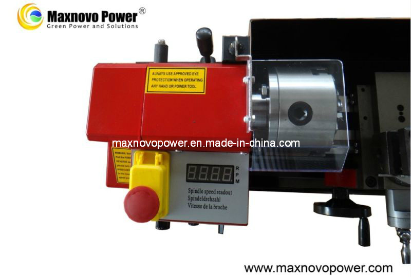 Metal Variable Speed Readout Precision Mini Bench Lathe Machine (MP-0618AML)
