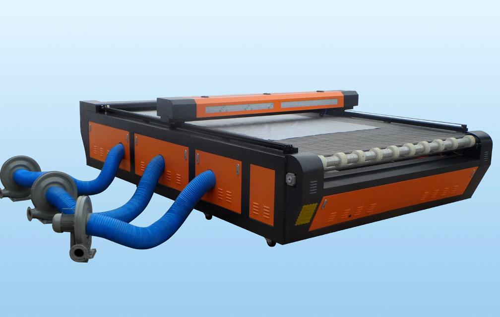 Leather Fabric Cloth Laser Cutting Machine with Auto Feeding System
