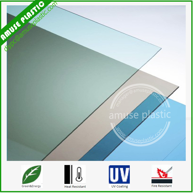 Colorful Plastic Building Roof Material Policarbonato Solid PC Sheet