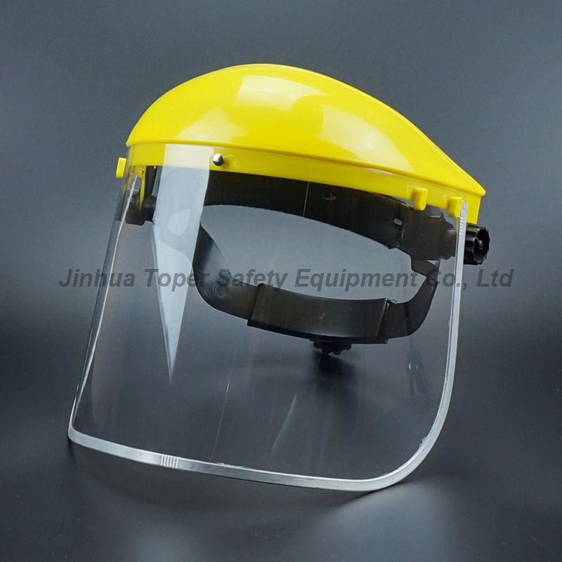 Top Sell Face Shield PVC Visor with Ratchet Suspension (FS4014)
