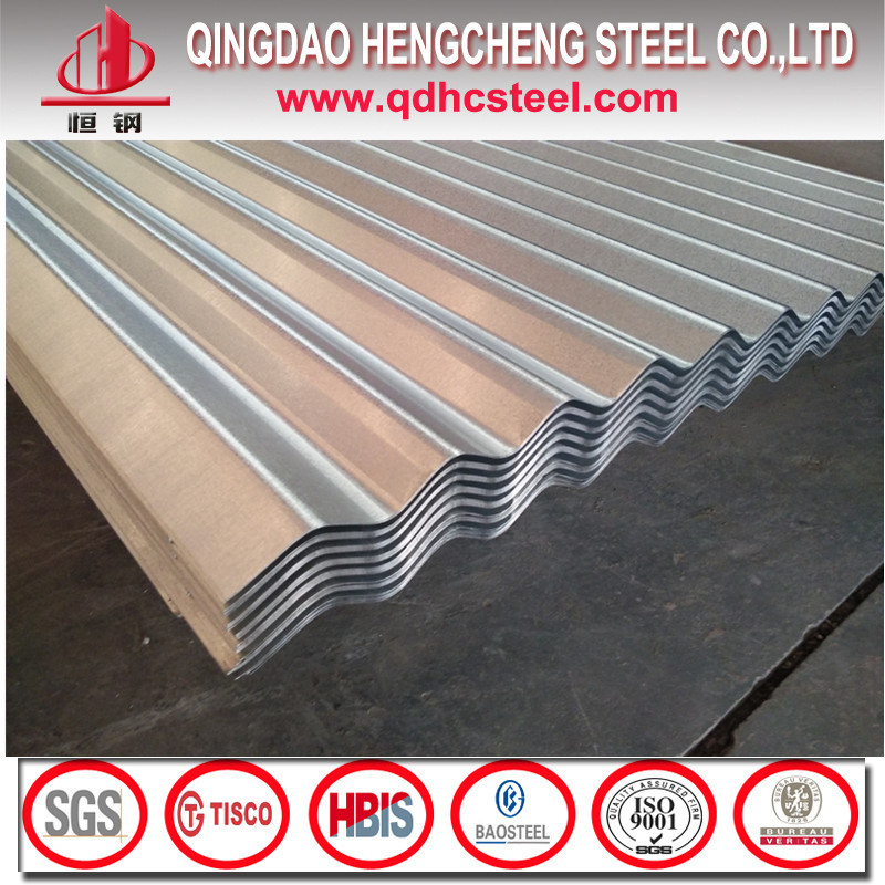 G550 S550gd Corrugated Galvalume Steel Roofing Tile
