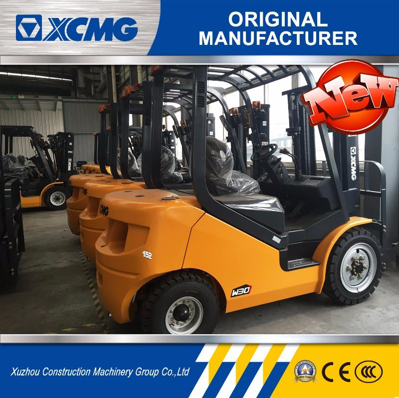XCMG 1.5 Ton Mini Forklift Diesel Forklift Truck for Warehouse