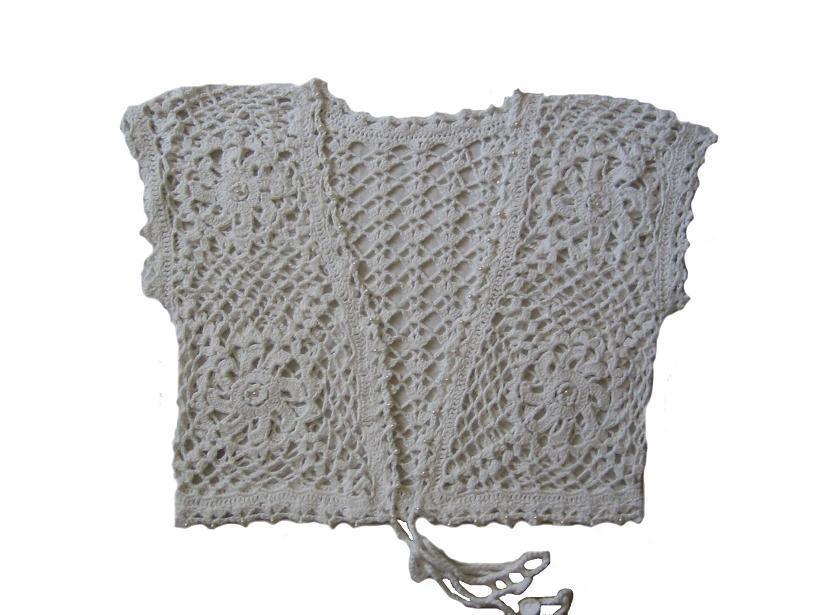 Vadis Designs Tie Shrug Pattern at Dream Weaver Yarns LLC