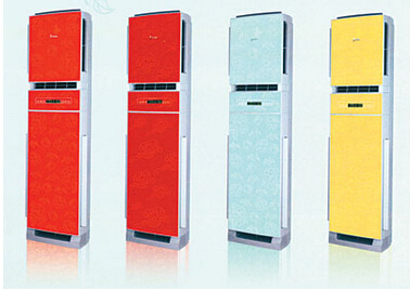 Novel Design Colorful Panel 3 Tons Floor Stand Air Conditioner