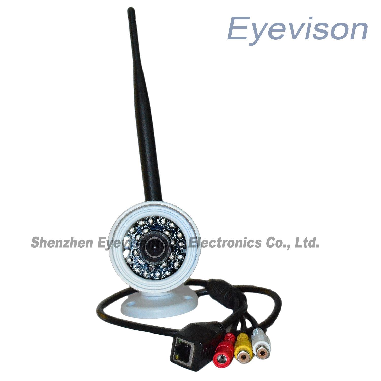 1.0MP HD (720p) IP IR Mini Home Security Camera (EV-HMIFI1001-IR)