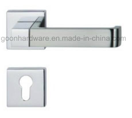 High Quality Zinc Alloy Door Handle on Rose - 202