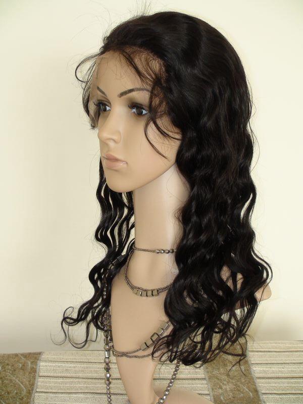 100% Brazilian Virgin Human Hair Full Lace Wigs