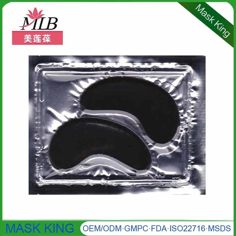 Black Mud Eye Treatment Mask Eye Skin Care Crystal Collagen Anti Wrinkle Eyepatch