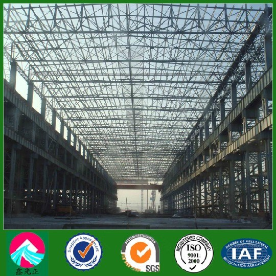 Light Steel Trusses Structure Logistic Warehouse with Brick Wall (XGZ-SSW 236)