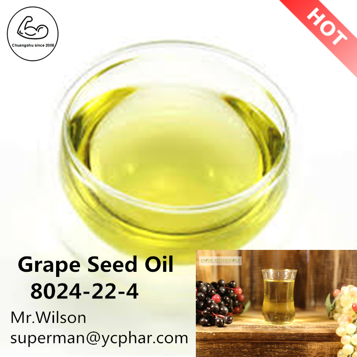 Pure Liquid Grape Seed Oil Solvent Liquid 8024-22-4