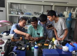 Rigid Endoscope Repair Training for Indian