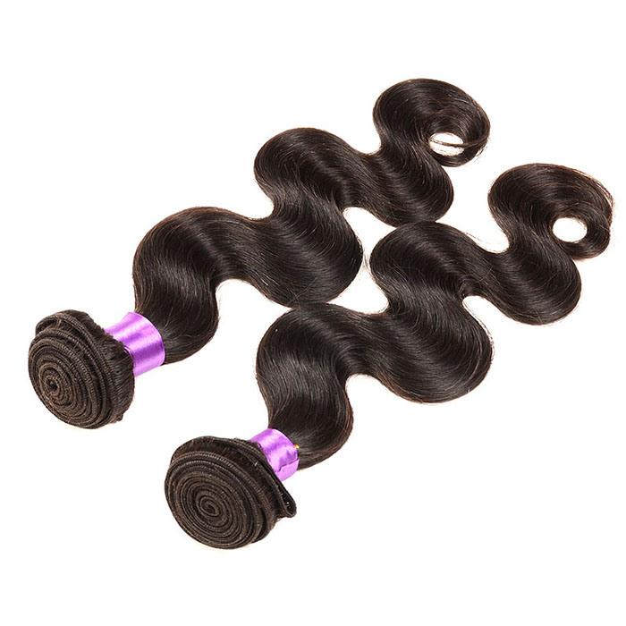 4bundles Brazilian Virgin Hair Body Wave Ali Queen 8A Grade Virgin Unprocessed Human Hair Wet and Wavy Virgin Brazilian Hair