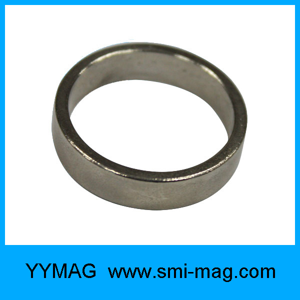 Neodymium Black Epoxy Coating Ring Circle Magnet