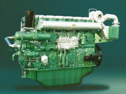 352kw-680kw Marine Engine (YC6C)