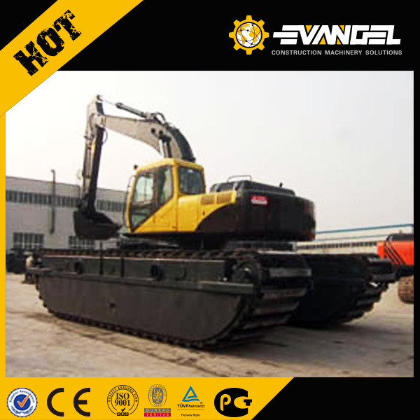 Zhenyu 20ton Amphibious Excavator with 2 Chains Zy210SD-1