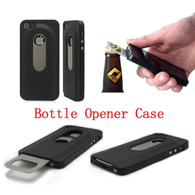 china bottle opener phone case for iphone 5 hard case slide out bottle opener case for iphone. Black Bedroom Furniture Sets. Home Design Ideas