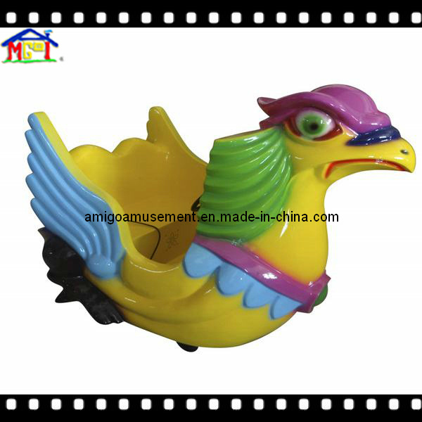 Fiberglass Game Machine Electric Kiddie Ride Mini Plane