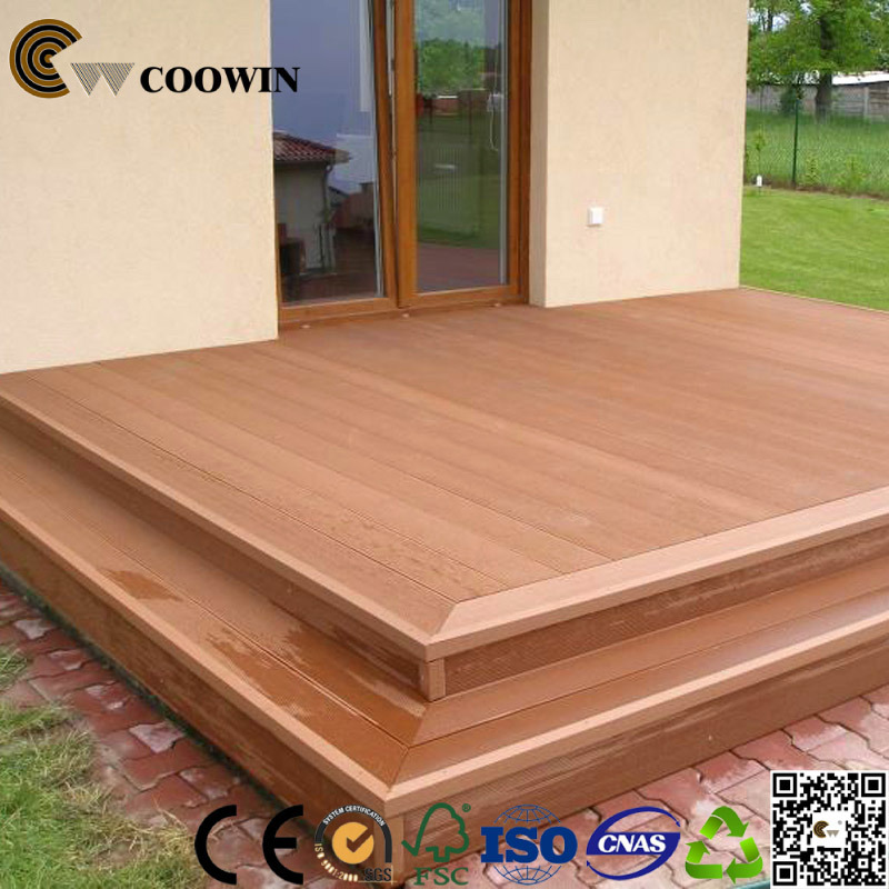 Outdoor Decking WPC/Wood and Plastic Composite Decking/Engineering Flooring (TS-04A)