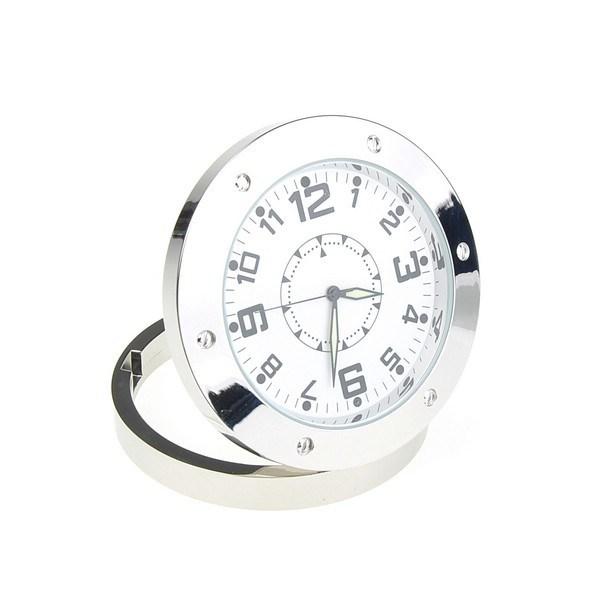 Mini Table Clock Camera Video Record Indoor Motion Detector Qt-C520A
