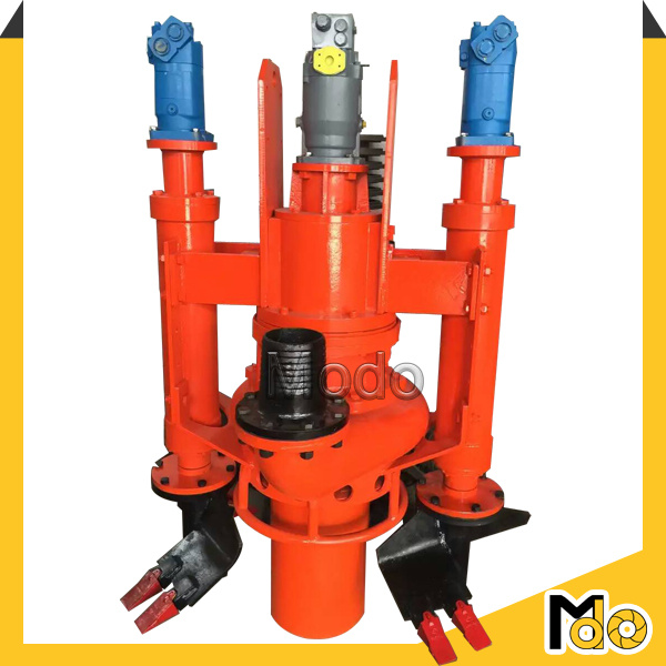 Hydraulic Agitator Centrifugal Submersible Slurry Pump for Dredging