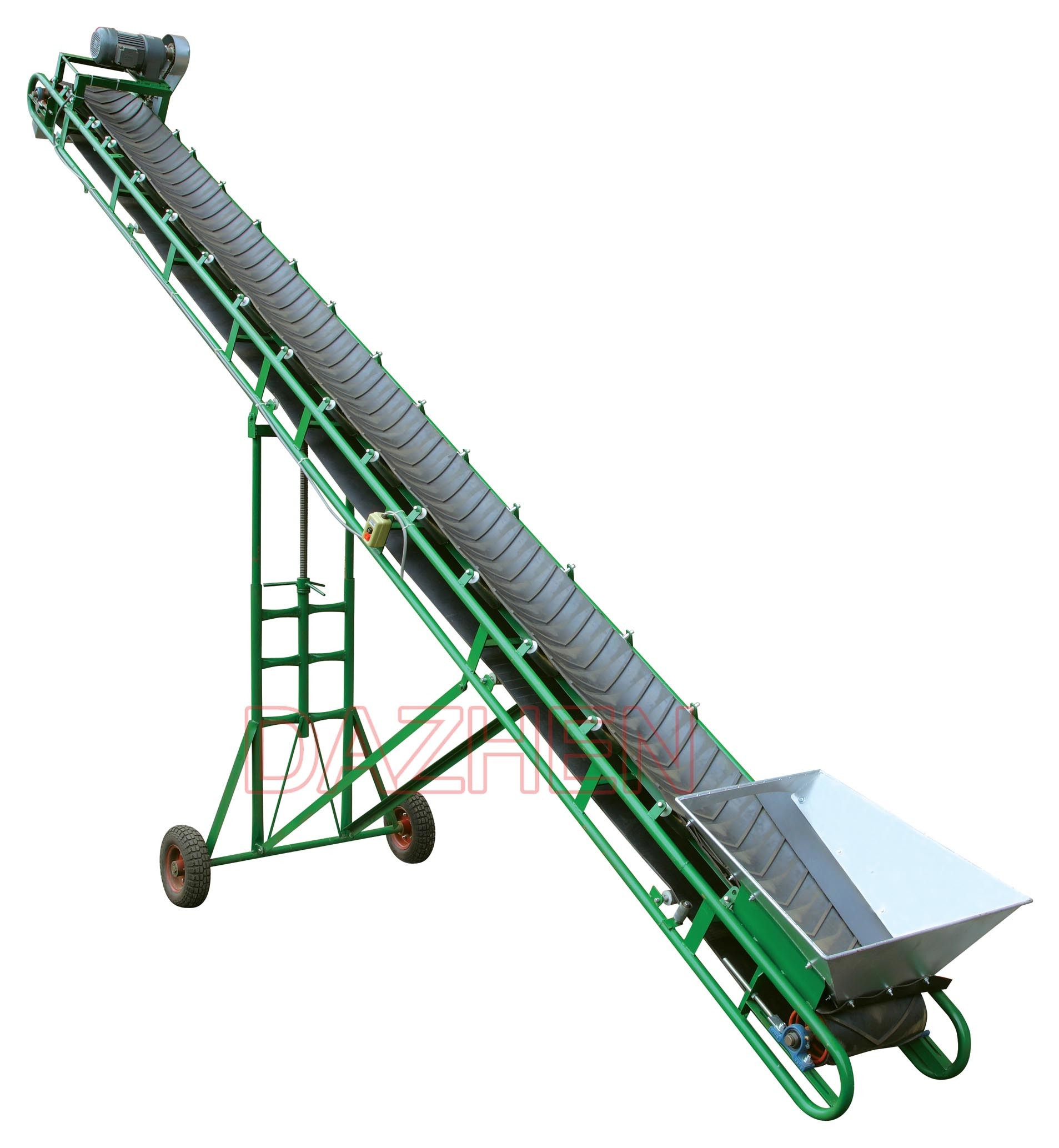 inclined belt conveyor Manufacturer of belt conveyors - inclined belt conveyor, truck loading conveyor, conveyor belt and bag handling conveyor offered by star material handling projects, delhi.