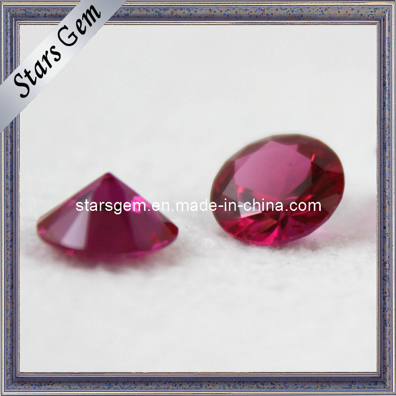 Round Shape 5# Ruby Gemstone