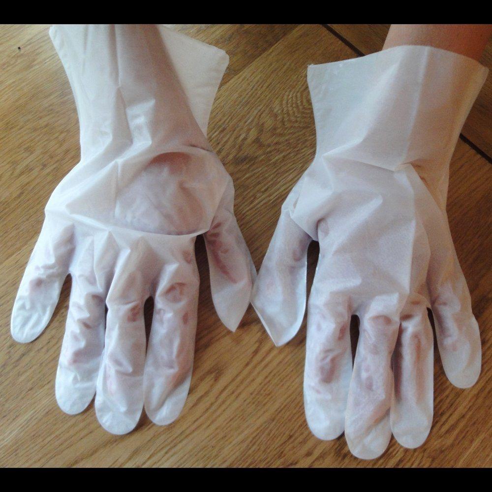 Wholesale Whitening Moirsturizing Baby Hand Shin Care Whitening Glove Mask Manufactor