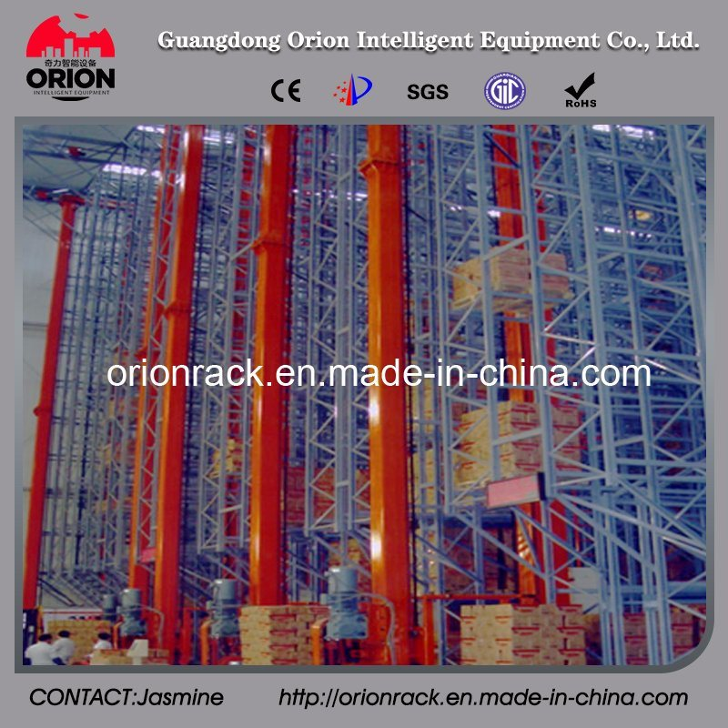 Automatic Storage Pallet Racking System