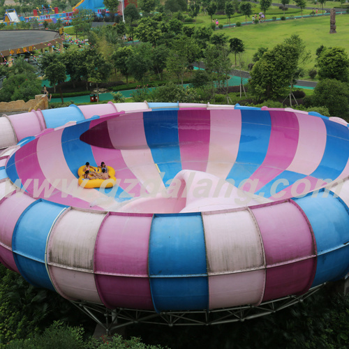 Space Bowl Water Slide for 4 People