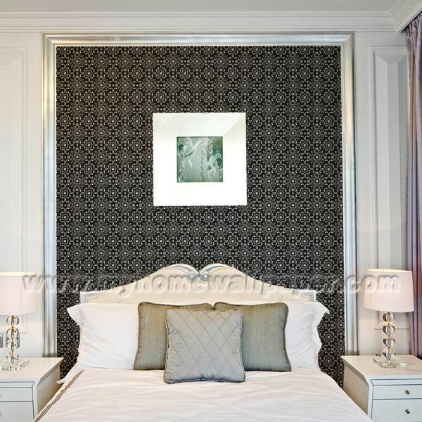 Nouveau papier peint mat riel de vinyle de d coration de for Modele chambre papier peint