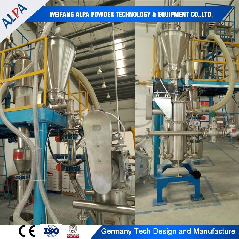 Pesticide Particle Size Reduction Machine Pulverizer Grinding Mill