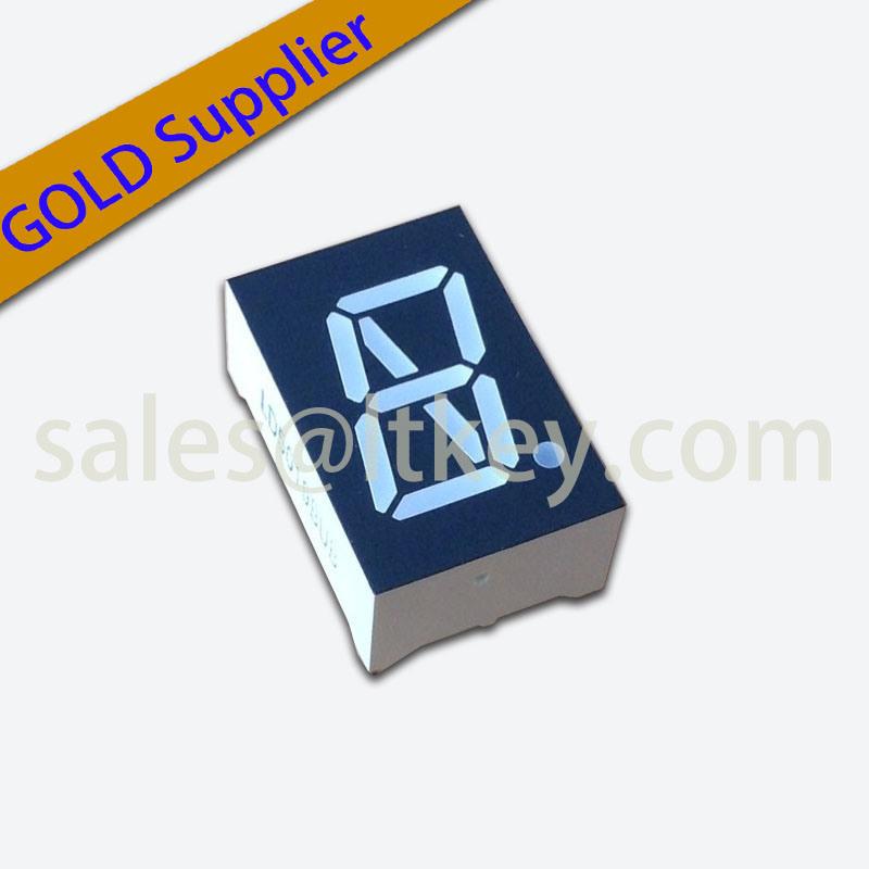 0.5 Inch Single Digit 9 Segment LED Display