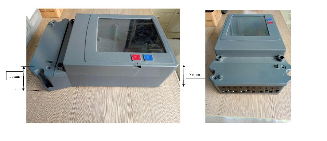 Three Phase Multi-Function Energy Meter Case, Mete Box (LH-M304)