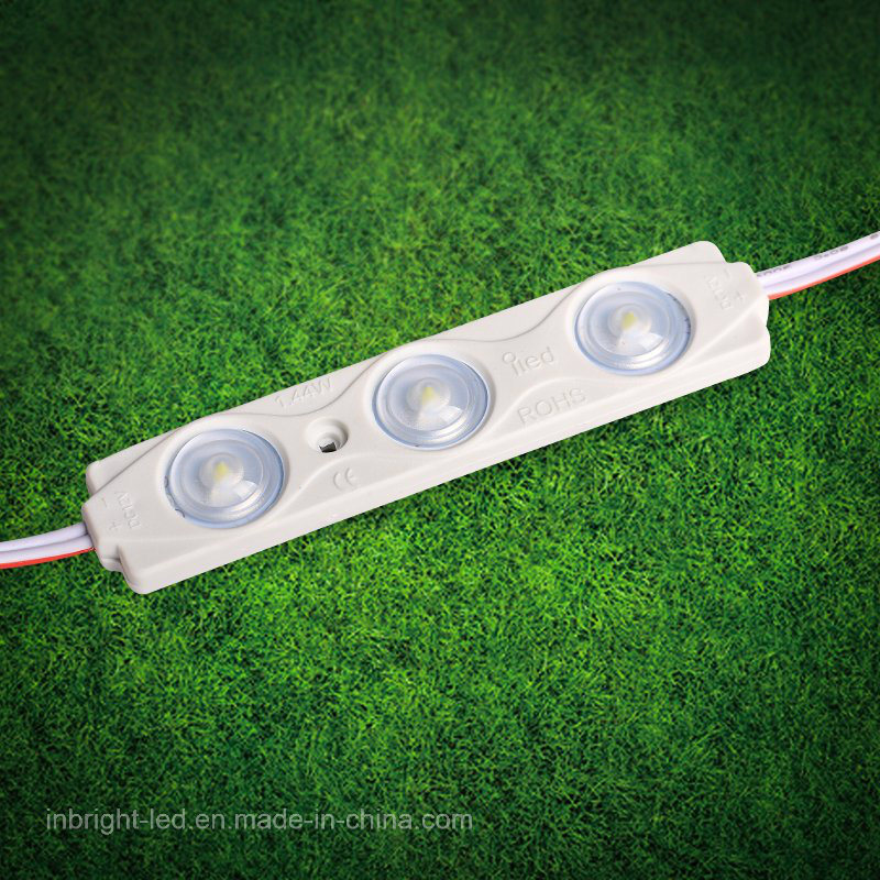 Best Selling 12V 1.44W SMD 2835 LED Injection Module with Lens