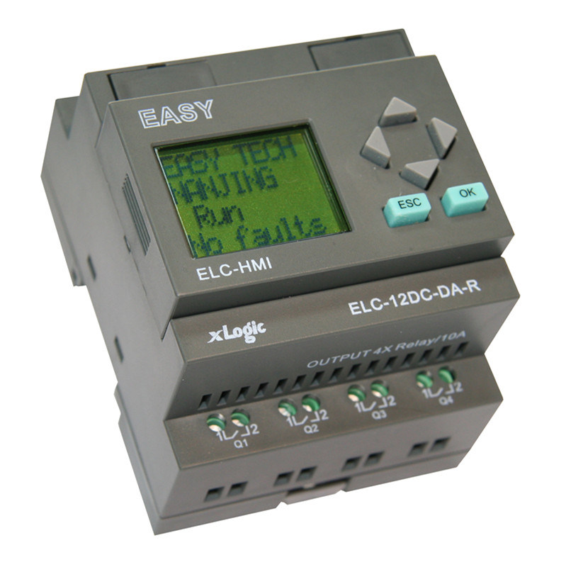 Programmable Relay for Intelligent Control (ELC-12DC-DA-R-HMI)