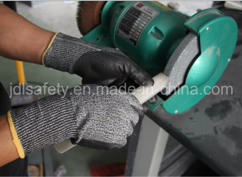 Fully Coating Cut Resistant Work Glove with Nitrile Dopping (ND6516)