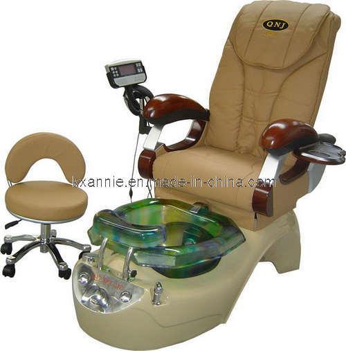 Silla de pedicure silla del masaje del balneario de for Sillas para pedicure