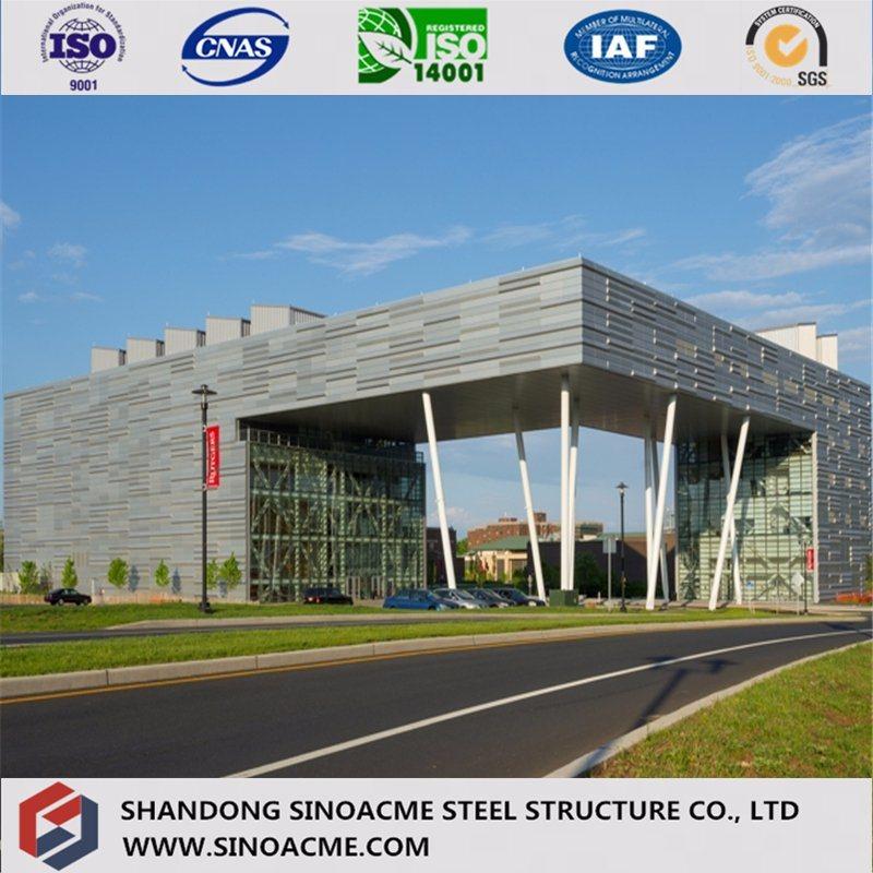 Sinoacme Prefabricated Metal Frame Steel Structure Office Building