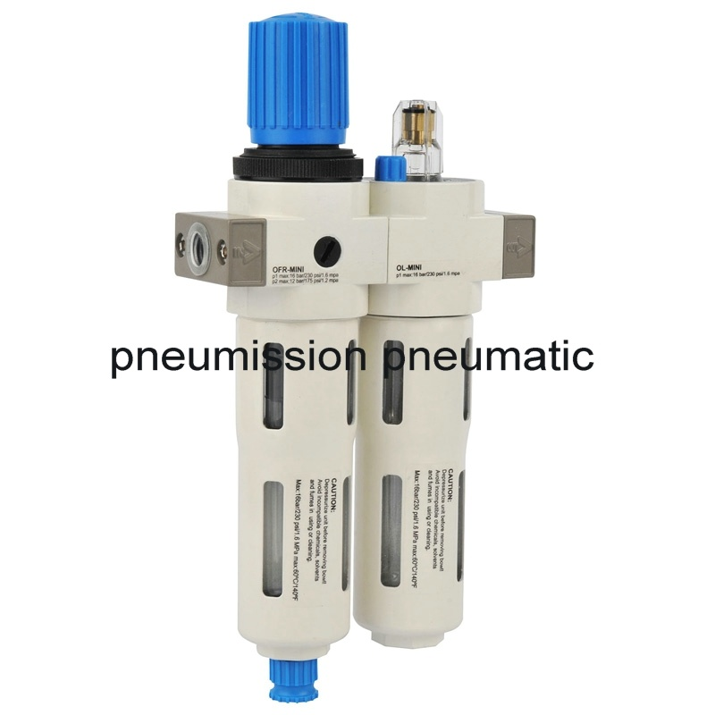 Pneumatic Frl Air Preparation Air Source Treatment Units (FR+L)
