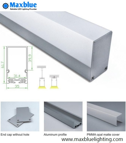 Aluminum Profile for Linear LED Light Bar