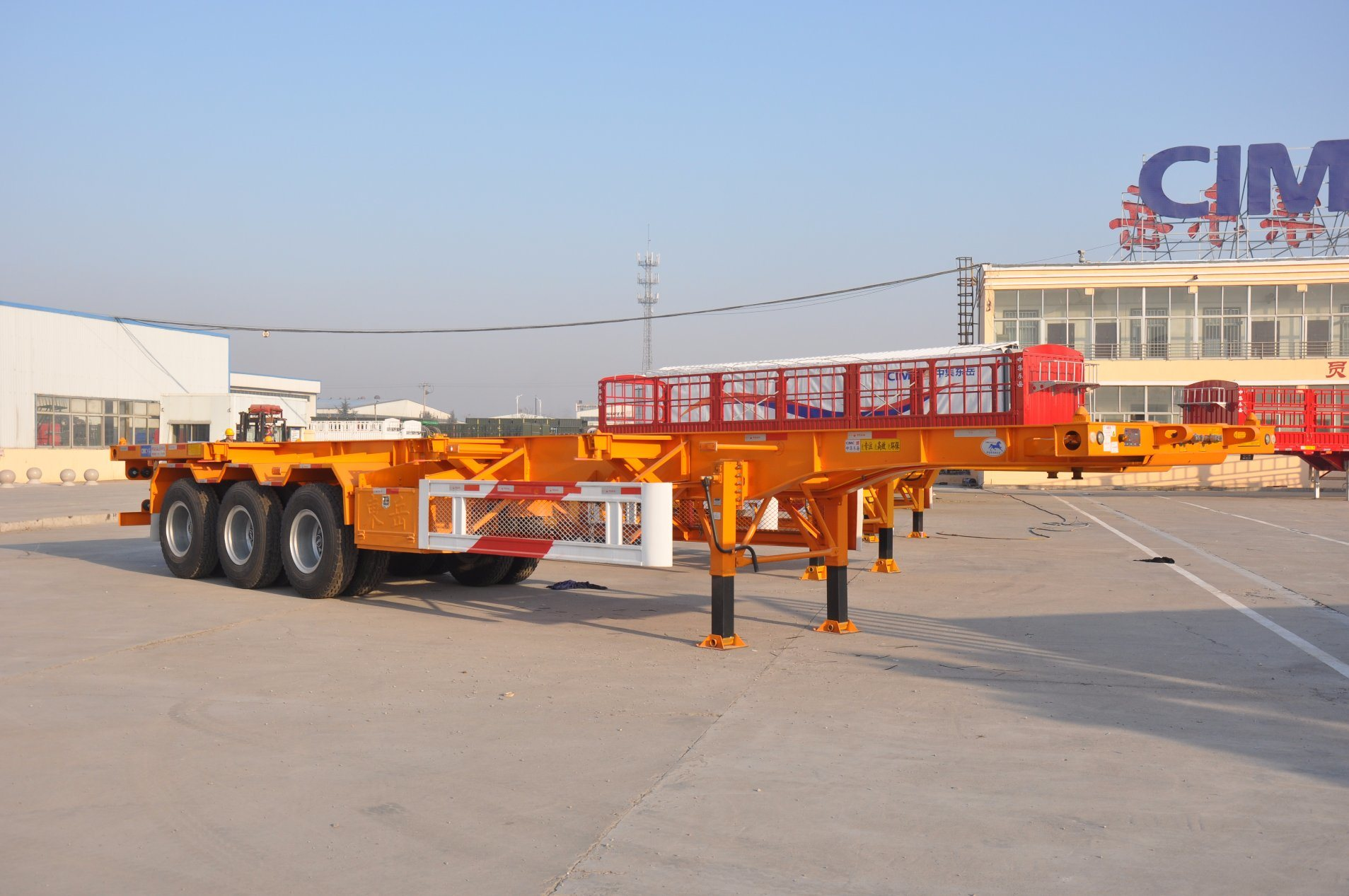 40FT Skeleton Container Chassis