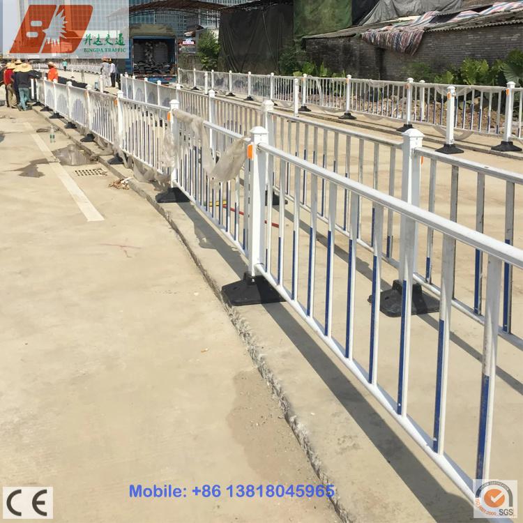 Rustproof Galvanized Steel Isolation Belt Road Divider/Barrier