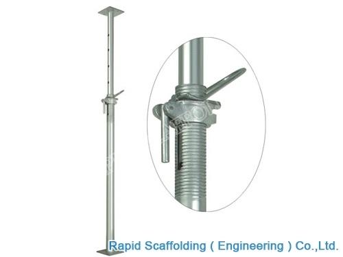 Adjustable Steel Post Shores : China ringlock cuplock steel hot dip galvanizde plank