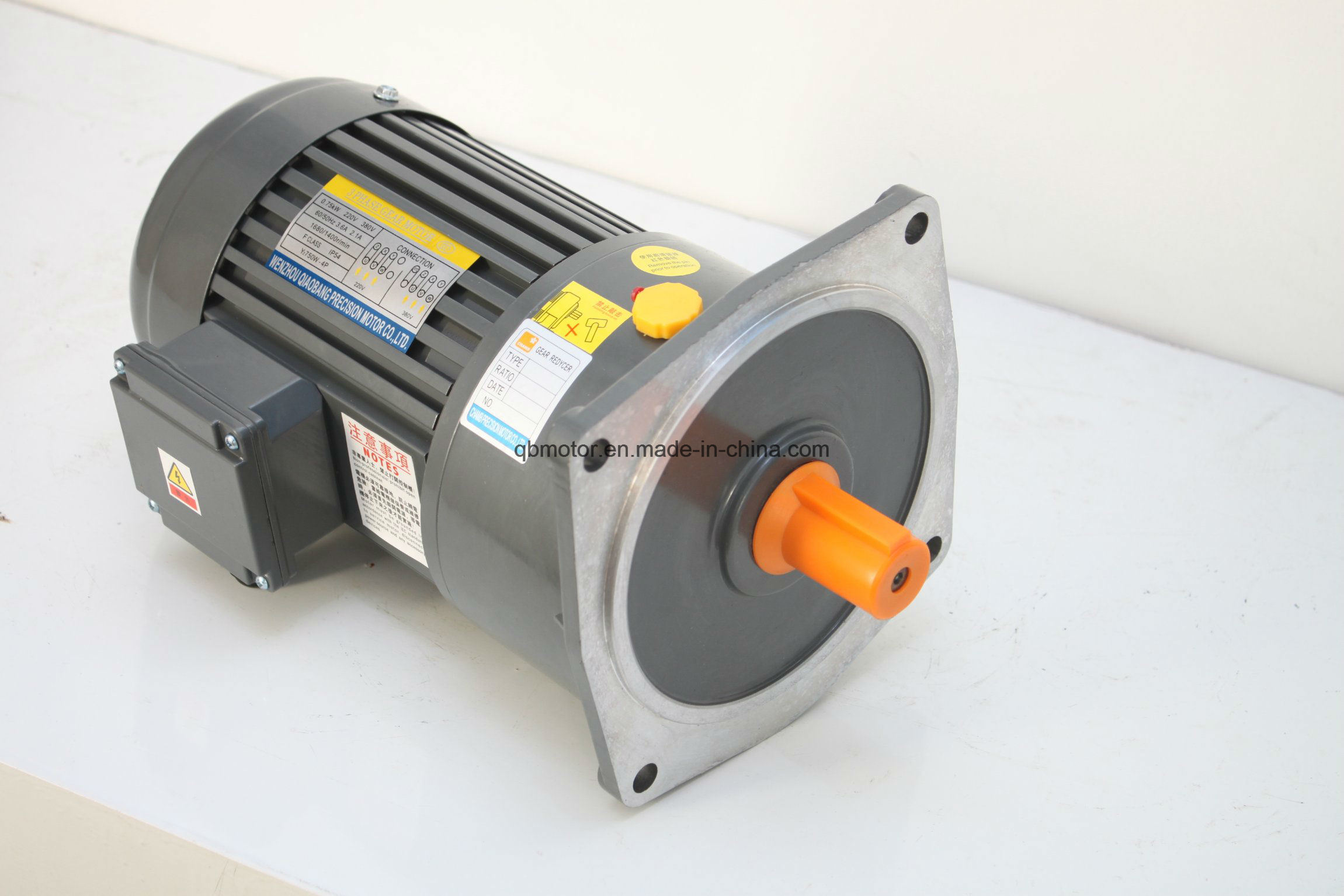 Light Duty Small Geared Motor Reducer High Ratio Transmission Gear Motor