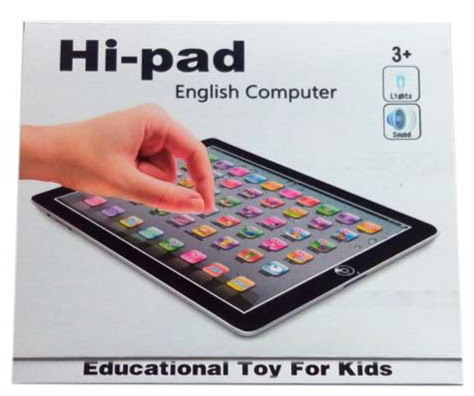 En71 English Educational Toys Learning Machine with Light