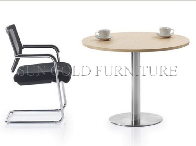 Round Shape Small Popular Meeting Table. Coffee Table (SZ-MT027)